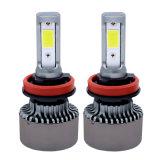 工場卸し売り新しく強力なBridgeluxの穂軸チップ(米国)車LEDのヘッドライトH4 Hi/Loのビーム72W 8000lm自動LEDライト