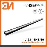Façade de medias de DEL allumant le tube linéaire Ce/UL/RoHS (L-231-S60-RGB)