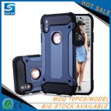 Shockproof Verteidiger-Rüstungs-Einfachheits-Handy-Fall für iPhone X