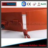 Placa de aquecedor de borracha de silicone industrial