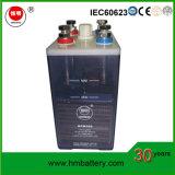Nickel-Cadmiumbatterie 1.2V 300ah für Kraftwerk mit Bescheinigung IEC60623