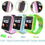 1.54 '' pantallas táctiles embroman el reloj del perseguidor del GPS con APP (Y12)