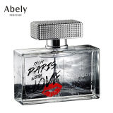 el precio de fábrica 60ml anunció la botella de cristal del perfume del diseño de la manera