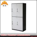 Jas-027 4 portas de Pano Metal roupeiro do mobiliário de design do quarto dormitório para