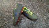 Pé Calçado de bola, sapatos de futebol de moda masculina, calçados, sapatos de desporto para homens/tênis de corrida, 12000pares