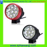 Миниый свет велосипеда Headlamp CREE T6 9800lm с штепсельной вилкой Hw880 Au/EU/Us