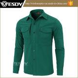 Темно - одежда ватки зеленой тактической Windproof водоустойчивой рубашки Softshell теплая