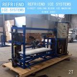 2t прямое охлаждение алюминиевую пластину блока льда бумагоделательной машины