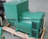 Einzelne Peilung-runde Form-elektrische Drehstromgeneratoren, die Dieselmotor für Stromversorgung abgleichen