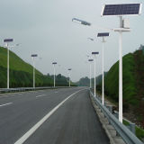 24W Outdoor LED Solar Street Light mit CER, CCC, RoHS Approval