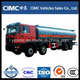 Caminhão 20cbm do depósito de gasolina de HOWO 6X4 com 6 compartimentos