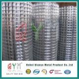 Rete metallica saldata ricoperta PVC galvanizzata del ferro della rete metallica