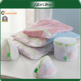 Sacco della lavanderia della rete del quadrato della maglia del poliestere della lavanderia automatica della famiglia