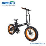 [إن15194] 20*4.0 إطار العجلة سمين يطوي شاطئ طرّاد درّاجة كهربائيّة