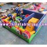 Les enfants petit gonflable de location de château gonflable, 5x4x3m Bouner Jumping gonflable House, Castle