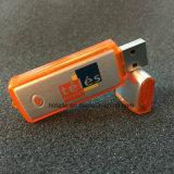 Le plastique+alu classique Stick USB Flash Stylo en plastique conducteur