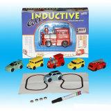 Мини-Magic Pen детский индуктивные Car погрузчика бункера игрушка контакт индуктивный автомобиль в подарок