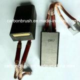 Escova de carbono CH17 do fornecedor de China para o moinho do cimento