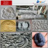 La piedra, mármol, granito, lápida de corte CNC MÁQUINA DE GRABADO grabado