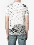 T-shirt fait sur commande estampé par mode de l'été des hommes