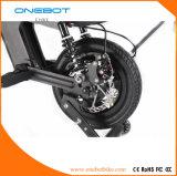 Faltbarer Motor der Onebot E-Fahrrad Pansonic Batterie-500W, städtische Mobilität, intelligentes Ebike, USB, Bluetooth, Roller, Fahrrad