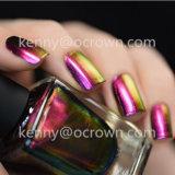 Пигмент заполированности геля ногтя крома хамелеона волшебного цвета изменяя