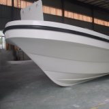 18FT Type de moteur hors-bord Pêche à la fibre de verre Panga Boat