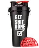 BPA geben fördernde Dural Flasche des Schüttel-Apparat700ml, preiswertes Doppelschüttel-apparatcup frei