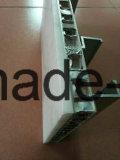 Panneaux de placage de mur composite en fibre de bois blanc en marbre