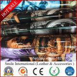 PVC 패턴 핸드백을%s 빛나는 인공 가죽
