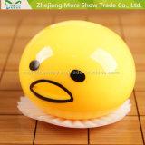 O ovo pegajoso da novidade brinca amarelo bonito Vomiting espremido & sugar brinquedos