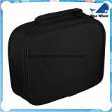 Bw251 Sac de cosmétiques occasionnel des pièces électroniques de sac de rangement fourre-tout noir