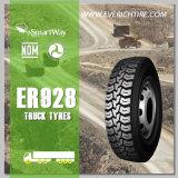 315 / 80r22.5 Chine Pneus de conduite / Pneu à pneus radiaux lourds / TBR avec objectif DOT