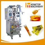Machine van de Verpakking van het Sachet van de Machine van de Verpakking van de Tomatenpuree van de Ketchup van Wasabi van de Room van het Water van de Olie van de Melk van de Honing van de Gelei van het Vruchtesap van de Sojasaus van de Saus van de boon Detergent Vloeibare