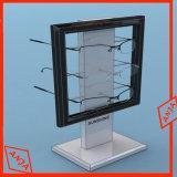 Gafas de sol de metal de la pantalla stand tienda