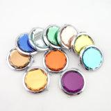 Förderndes bekanntmachendes Geschenk - kundenspezifischer beweglicher kosmetischer Pocket Kristallspiegel
