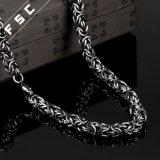 collana punk della catena di stile dell'acciaio inossidabile di modo di 24in per l'uomo