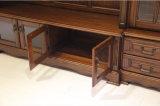 Cabinet de télévision à meubles en bois grand salon (GSP15-004)