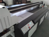 De gran formato de vidrio orgánico UV impresora plana para publicidad Comany