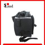 Al aire libre bolsa de viaje negro de la silla de montar para la motocicleta