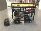 Phase unique 7.5kVA 7kVA 8 kVA ATS portatif électrique générateur à essence