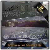 Экстравагантные алюминиевые ограждения ворота