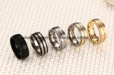 De Ring van het Staal van het Titanium van de zuivere Mensen van de Juwelen van de Ring van het Titanium