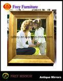 Mobilia di legno decorativa del blocco per grafici della foto