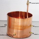 Kingsunshine 18L/5gal se dirige alambiques del alcohol ilegal del alambique del cobre del destilador del alcohol
