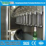 洗濯機の注入口が付いているビールびん詰めにする機械およびふた締め機31の