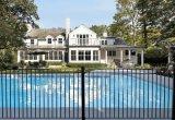Rete fissa d'acciaio/di alluminio galvanizzata della piscina ricoperta polvere esterna per obbligazione