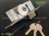 [81054-ك1] ألومنيوم باب جهاز [دوور لوك] ينزلق تعقّب هويس مع مفتاح