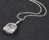 00169 Form-späteste Kind-Hauptkristallschmucksache-Anhänger-Halskette