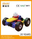 熱い販売のプラスチックは教育おもちゃの小型変形させた3Dブロックをからかう